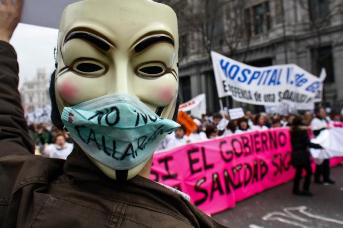 No nos callarán, foto de León de la Hoz