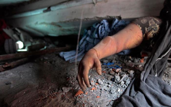 Foto de una de las víctimas de la fábrica textil en Bangladesh: Tomada de internet.